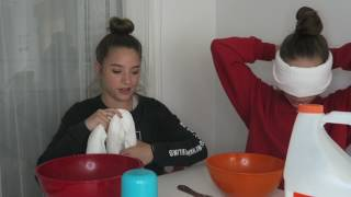 blindfolded slime! || with maddie!