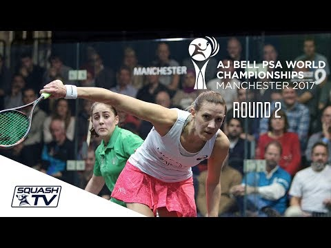 Squash: PSA World Championships 2017 - Women's Rd 2 Roundup