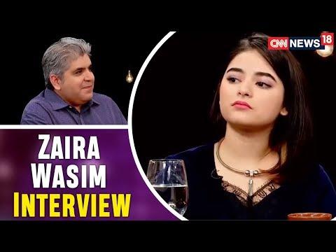 Zaira Wasim Interview | Secret Superstar | The Bollywood Roundtable 2017 | CNN-News18