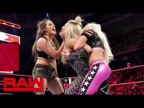Natalya vs. Brooke vs. Morgan vs. Logan - Money in the Bank Qualifying Match: Raw, May 21, 2018