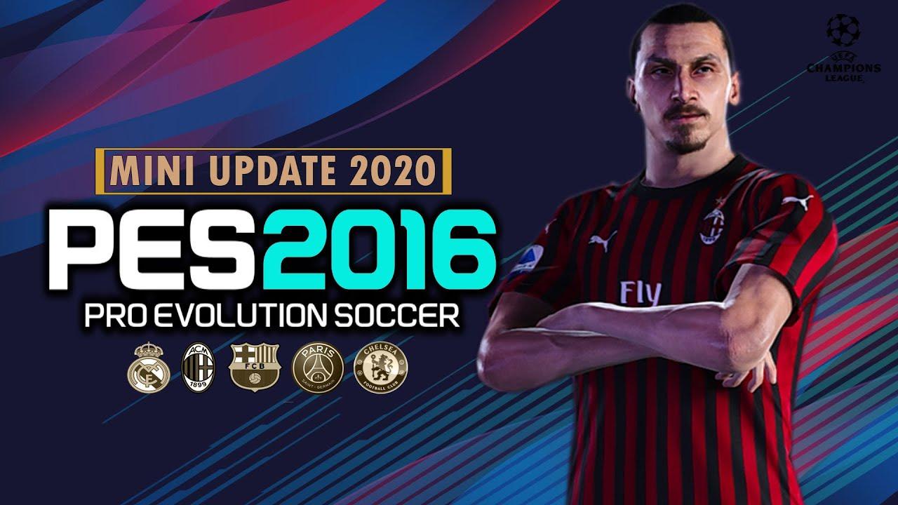 PES 2016 | UPDATE PATCH SEASON 2020 |