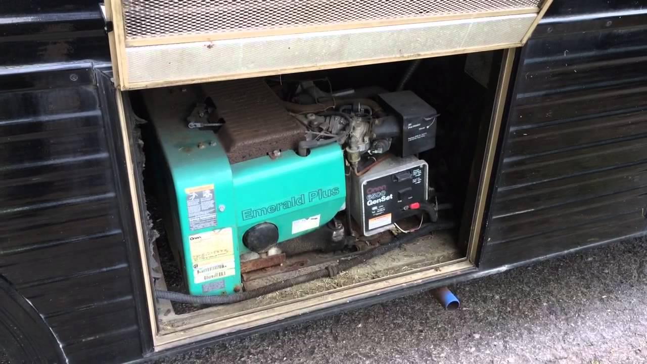 1987 Fleetwood Bounder Motorhome Onan Generator Youtube Emerald Wiring Diagram Free Download