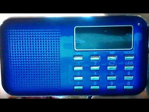 Lefon Model L908 portable mp3 Radio Speaker Review
