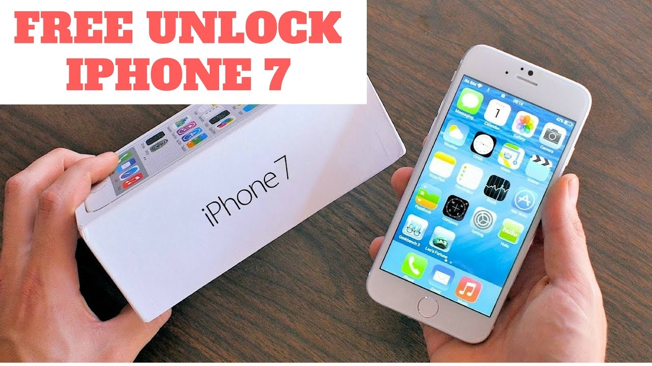 unlock iphone 7 free  how to unlock iphone 7 and 7 plus