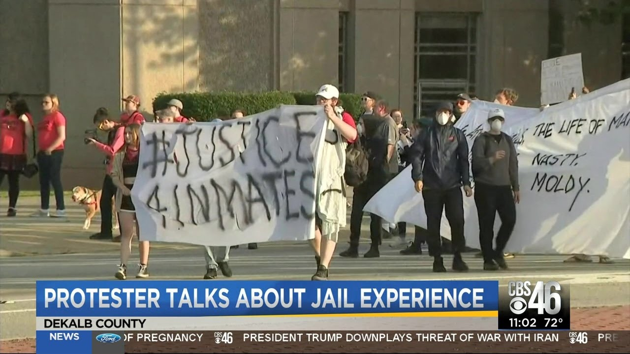 GEORGIA: PROTESTERS TALK ABOUT THEIR EXPERIENCE BEHIND BARS