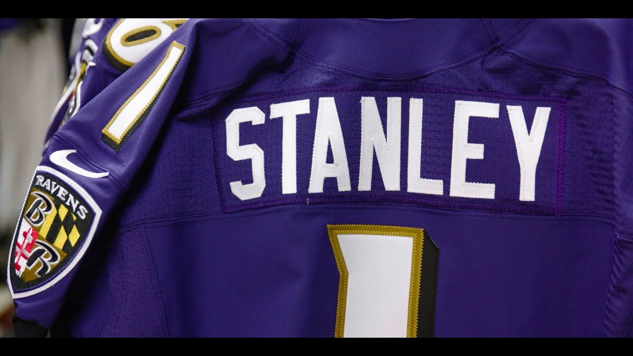 GAME Baltimore Ravens Ronnie Stanley Jerseys