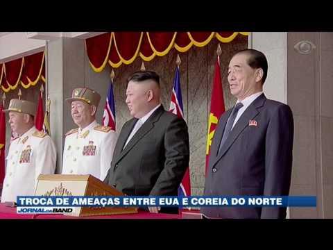 EUA e Coreia do Norte trocam ameaças