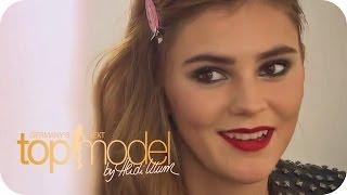 Steffi gibt Nathalie den nötigen Antrieb   Germany's next Topmodel 2014   ProSieben