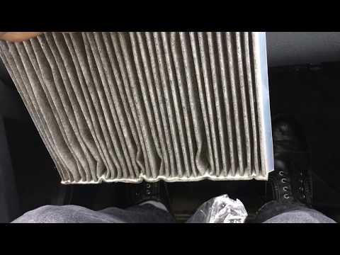 Замена салонного фильтра на Volvo S80 II