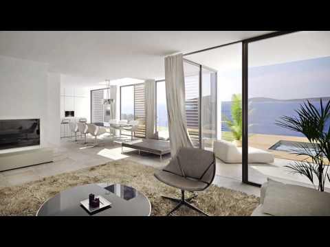 H195 Luxury seafront villa, Dalmatia // H195 Luxuriöse Villen am Meer, Dalmatien