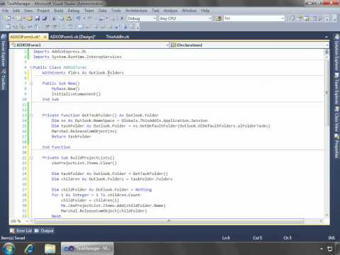 Create advanced Outlook form and view regions with VSTO (C#, VB.NET)