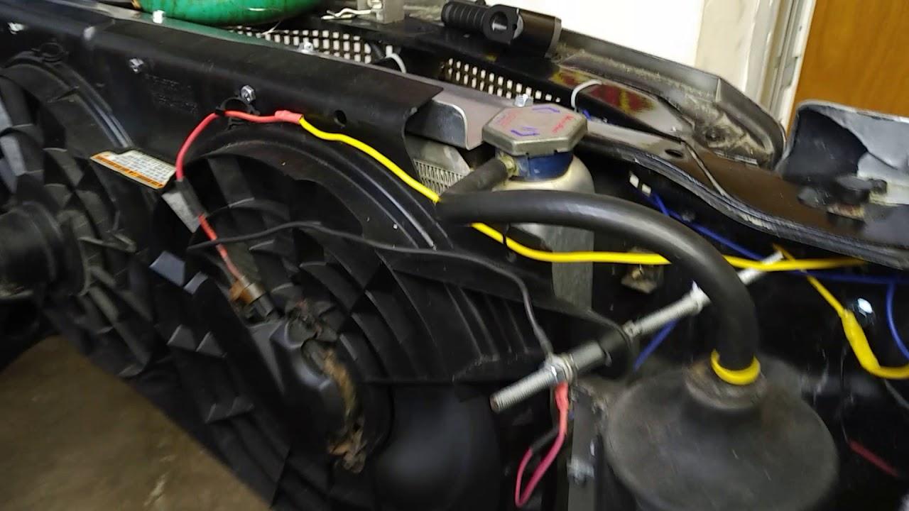 Electric Radiator Fan Wiring Diagram Hayden 3653 Electric Fan Controller Install On Windstar