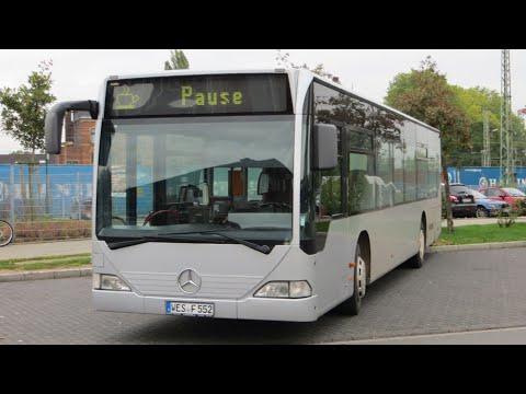 [Sound] Bus Mercedes O 530 (WES-F 552) der Fa Faltraco Omnibusbetrieb, Wesel