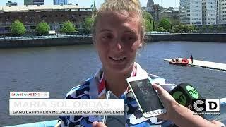Maria Sol Ordás gano la medalla dorada - Buenos Aires 2018