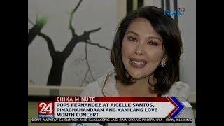 Download Lagu 24 Oras: Pops Fernandez at Aicelle Santos, pinaghahandaan ang kanilang love month concert mp3