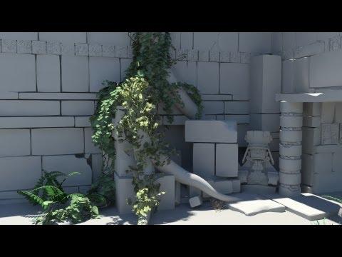 Ivy Generator In Maya (Arabic tutorials) - ShaheenCG