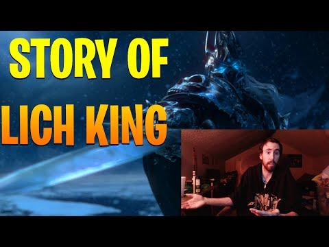 """Asmongold Reacts to """"The True Story of Arthas, The Lich King"""" by Nixxiom - World of Warcraft"""