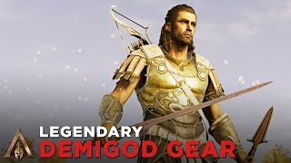 Legendary Demigod Gear + Sword of Damokles (DEIMOS SET) - Assassin