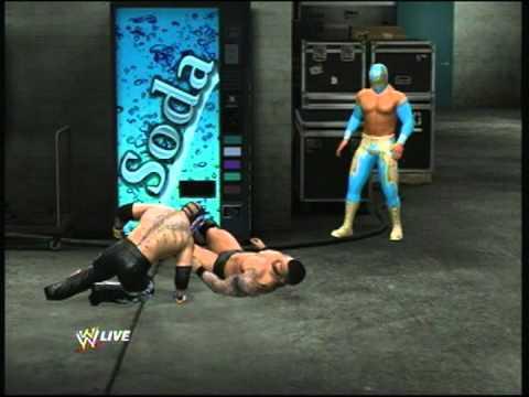 WWE 2012 Backstage Brawl 1 vs 2