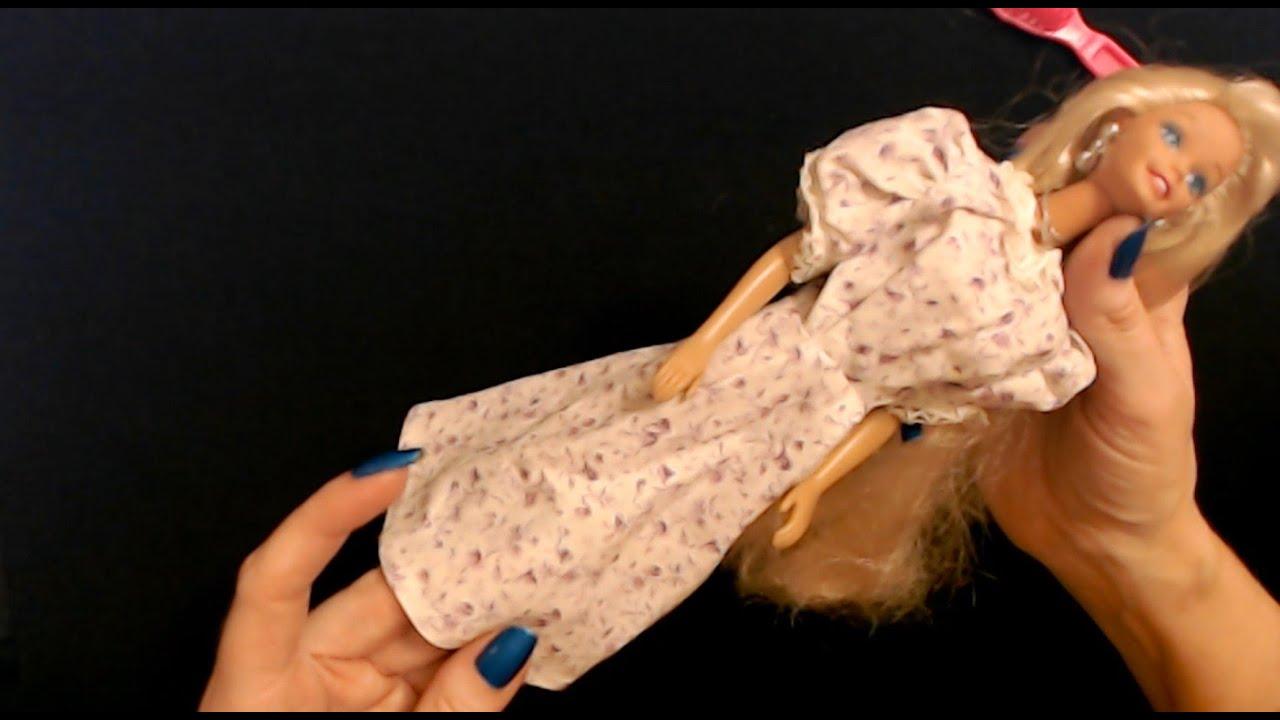 ASMR   Handmade Miniature Dresses/Clothing Show & Tell (Soft Spoken)