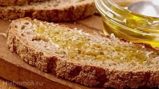 Ржаной хлеб с льняным жмыхом на густой пшеничной закваске