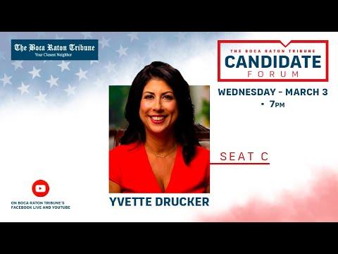 Election Interview 2021 - Yvette Drucker