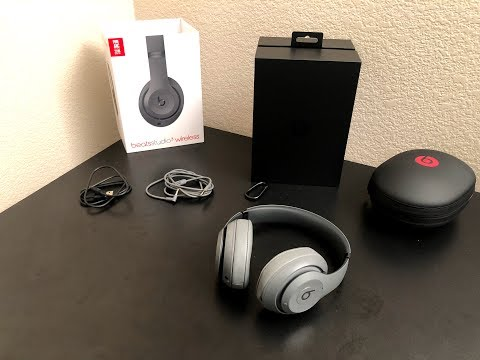 Beats by Dre Studio 3 Wireless Unboxing and Review