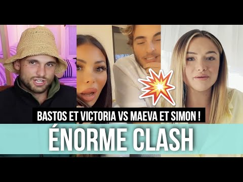 Download BASTOS ET VICTORIA VS MAEVA ET SIMON 💥 GROS CLASH ! MAEVA ET SIMON RÉPONDENT À LEURS TACLES ! 😮