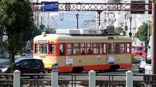 2018.01.19.伊予鉄道モハ50形61@西堀端