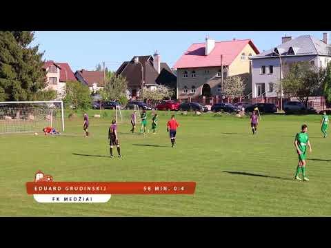 Vilniaus m. III Lyga: FK Salininkai 1:7 FK Medžiai