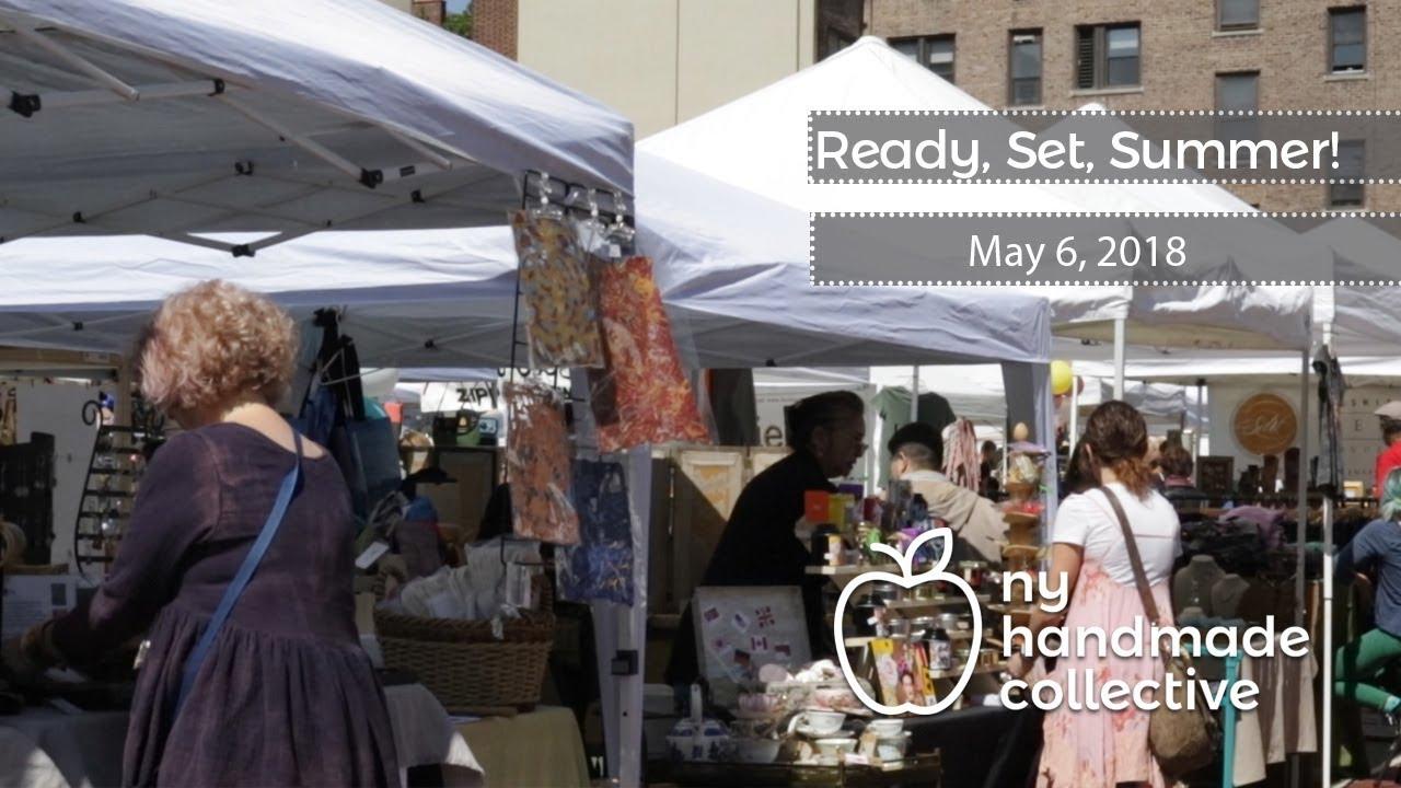 NY Handmade Collective--Ready Set Summer (2018) at the Grand Bazaar  NYC--Sunday, May 6