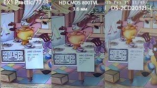 Обзор и тест аналоговой камеры 8330 ver 3.1 HD CMOS 800TVL