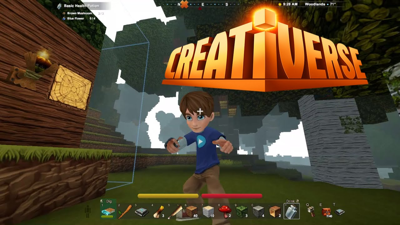 Creating a world and building a blueprint creativerse 1 youtube malvernweather Images
