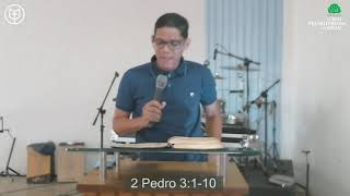 Não esqueça da promessa | 2 Pedro 3:1-10 | Rev. Ericon Oliveira