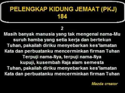PKJ 184 - NAMA YESUS TERMULIA - Darius Sukiyanto