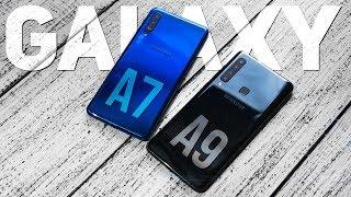 видео Отзыв о смартфоне Samsung Galaxy A7