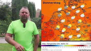 Wochenwetter für Deutschland - kühle 2. Augustwoche 2016