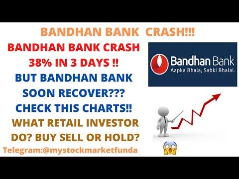 BANDHAN BANK SHARE LATEST NEWS | BANDHAN BANK CRASH 38% IN 3 DAYS|WILL BANDHAN BANK RECOVER?