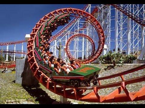 Six Flags Magic Mountain - Riding Ninja