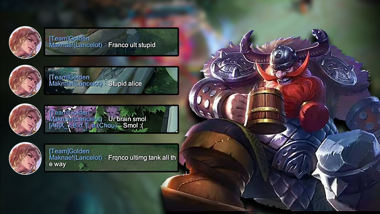 When You Have To Tank For A Toxic And Inexperienced Carry | Mobile Legends