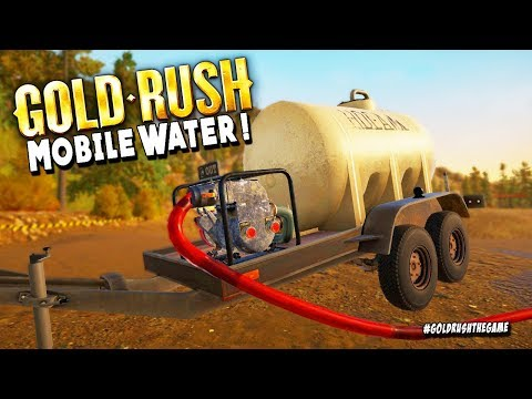 Mobile Water Tank So Good That We Break Our Machines - Gold Rush The Game