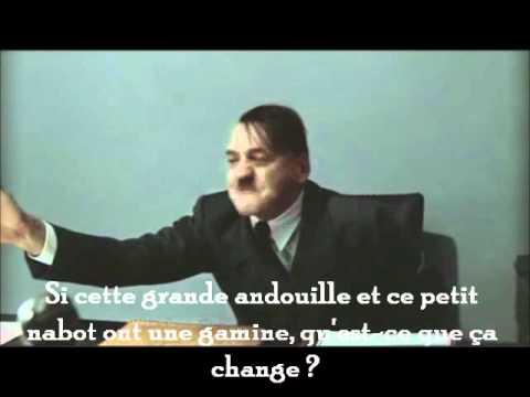 Hitler apprend la naissance de Giulia Bruni Sarkozy