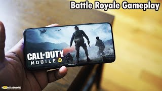 Call of Duty Mobile Battle Royale OnePlus 7 Pro Gameplay| Booredatwork.com