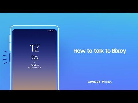 Bixby: How to talk to Bixby