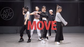 PRODUCE X 101 - 움직여 MOVE Girls ver. 커버댄스 DANCE COVER 안무 거울모드 MIRRORED 연습실 PRACTICE ver.