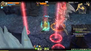 Tree Of Savior CBT Gameplay: Cleric Vs Stone Whale