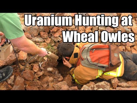 Uranium hunting at Wheal Owles