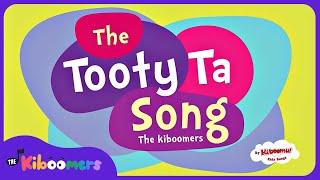 A Tooty Ta Song with Lyrics on Screen | Tooty Ta Dance for Kids | Preschool Songs With Actions