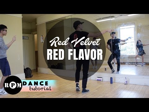 "Red Velvet ""Red Flavor"" Dance Tutorial (Pre-chorus, Chorus, Breakdown)"