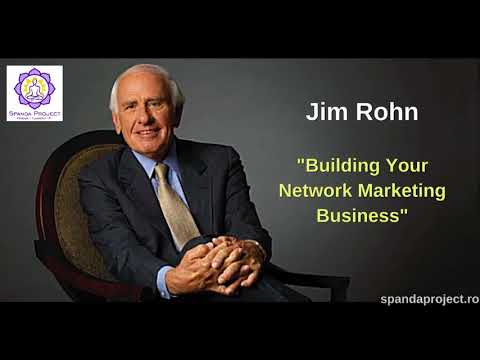 Jim Rohn -  Building Your Network Marketing Business